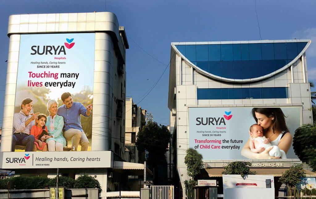 location of surya hospital mumbai