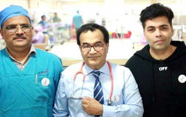Karan Johar at Surya Hospitals