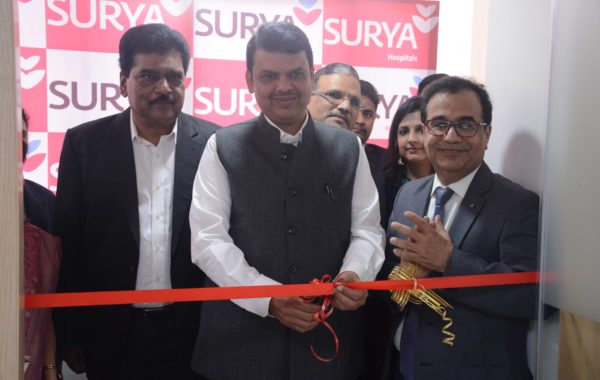Devendra Fadnavis at NICU Inaugration