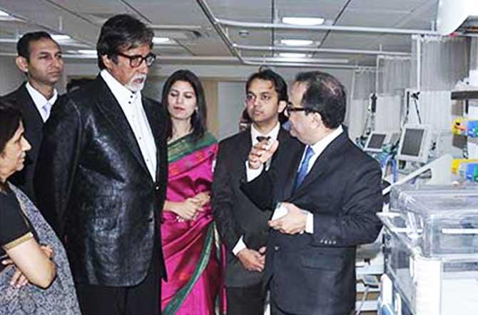 Amitabh Bachchan inaugurates Mumbai's dedicated Paediatric super-specialty Surya Child Care Hospital