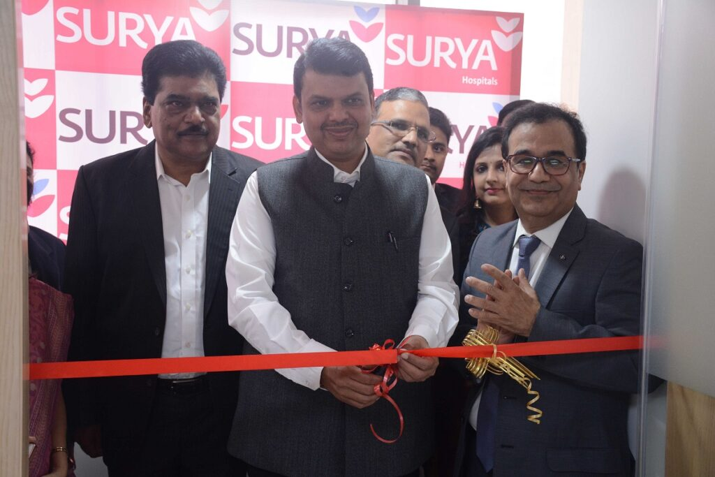 Launch of NICU facility at the hands of Maharashtra Chief Minister
