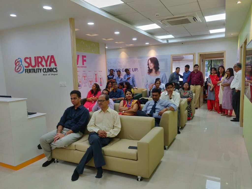 Launch of Surya Fertility Clinics in Mumbai