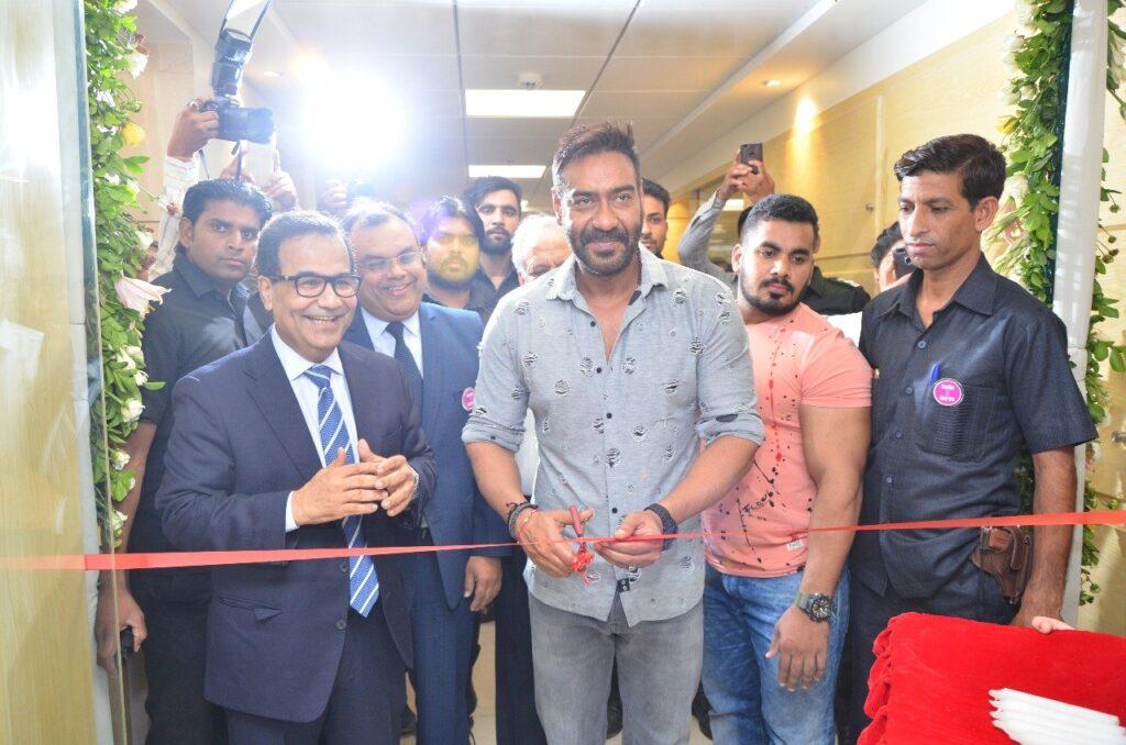 Ajay Devgan inaugurated Surya Hospitals Jaipur