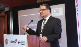 Global association Mr. Kabra presenting to McMaster Children's Hospital, Canada
