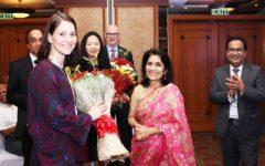 Global association Welcoming delegates