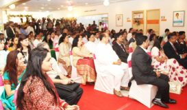 Inauguration of NICU Special invitees and our doctors at inauguration ceremony