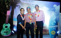 Doctors' Get together Dr.Avasthi & Dr. Kabra enjoying the party