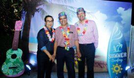 Doctors' Get together Dr.Avasthi & Dr. Kabra enjoying the party