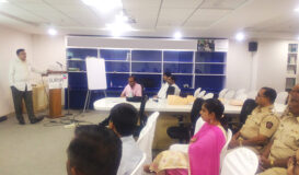 CPR training activities at Surya Hospital for the staff