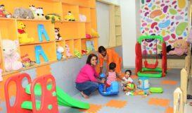 Mumbai Kids Play Area Visit to hospital can be fun